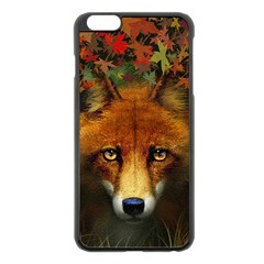 Fox Apple iPhone 6 Plus/6S Plus Black Enamel Case