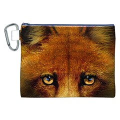 Fox Canvas Cosmetic Bag (XXL)