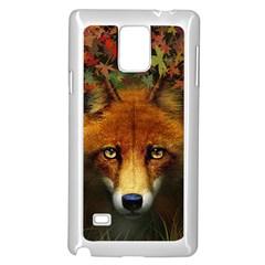 Fox Samsung Galaxy Note 4 Case (white)