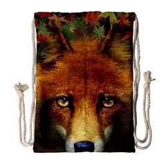 Fox Drawstring Bag (Large)