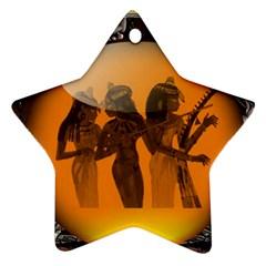 Maps Egypt Ornament (star)