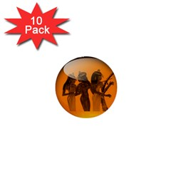 Maps Egypt 1  Mini Buttons (10 Pack)