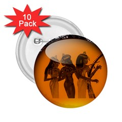 Maps Egypt 2.25  Buttons (10 pack)
