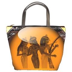 Maps Egypt Bucket Bags