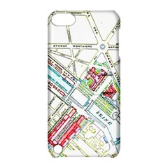 Paris Map Apple iPod Touch 5 Hardshell Case with Stand