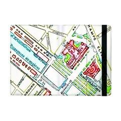 Paris Map iPad Mini 2 Flip Cases