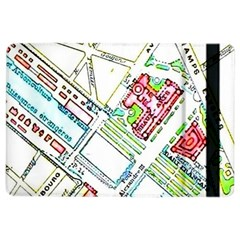 Paris Map iPad Air 2 Flip