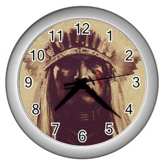 Indian Wall Clocks (Silver)