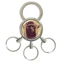 Indian 3-Ring Key Chains
