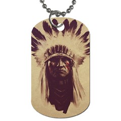 Indian Dog Tag (One Side)