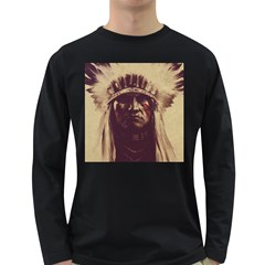 Indian Long Sleeve Dark T-Shirts