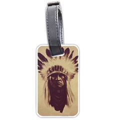 Indian Luggage Tags (two Sides)