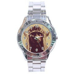 Indian Stainless Steel Analogue Watch