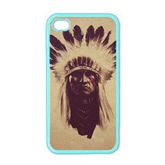 Indian Apple Iphone 4 Case (color)