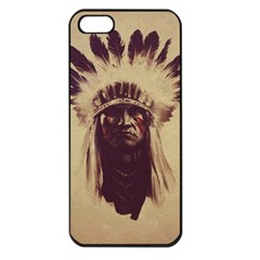Indian Apple iPhone 5 Seamless Case (Black)
