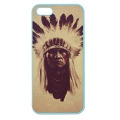 Indian Apple Seamless iPhone 5 Case (Color)