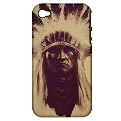 Indian Apple iPhone 4/4S Hardshell Case (PC+Silicone)