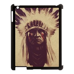 Indian Apple iPad 3/4 Case (Black)