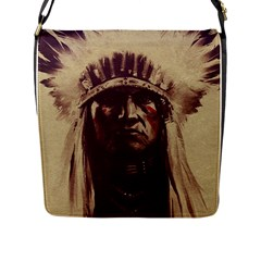 Indian Flap Messenger Bag (L)