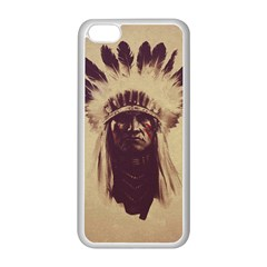 Indian Apple iPhone 5C Seamless Case (White)