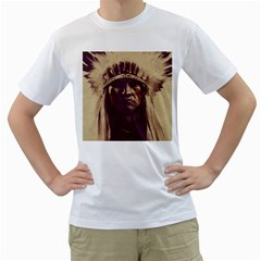 Indian Men s T-Shirt (White)