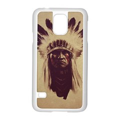 Indian Samsung Galaxy S5 Case (White)
