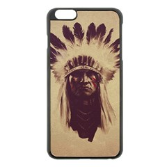 Indian Apple iPhone 6 Plus/6S Plus Black Enamel Case
