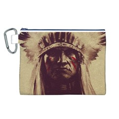 Indian Canvas Cosmetic Bag (L)