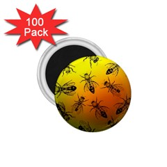 Insect Pattern 1 75  Magnets (100 Pack)