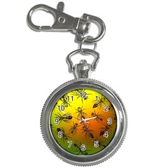 Insect Pattern Key Chain Watches