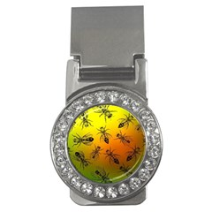 Insect Pattern Money Clips (CZ)