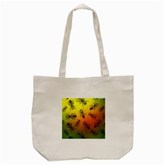 Insect Pattern Tote Bag (Cream)