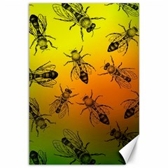 Insect Pattern Canvas 12  x 18