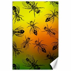 Insect Pattern Canvas 24  x 36