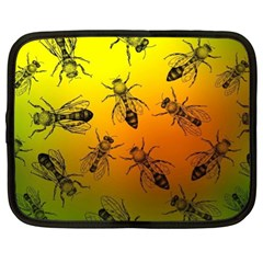 Insect Pattern Netbook Case (XL)