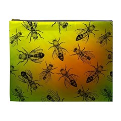 Insect Pattern Cosmetic Bag (xl)
