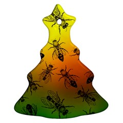 Insect Pattern Ornament (christmas Tree)