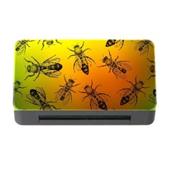 Insect Pattern Memory Card Reader with CF