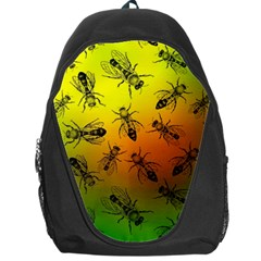 Insect Pattern Backpack Bag