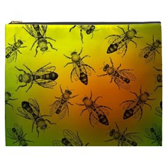 Insect Pattern Cosmetic Bag (XXXL)