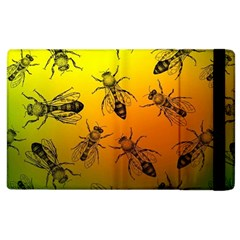 Insect Pattern Apple iPad 2 Flip Case