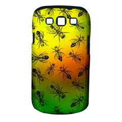 Insect Pattern Samsung Galaxy S Iii Classic Hardshell Case (pc+silicone)
