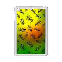 Insect Pattern iPad Mini 2 Enamel Coated Cases