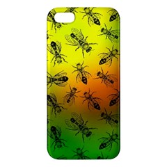 Insect Pattern Apple iPhone 5 Premium Hardshell Case