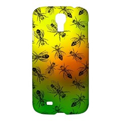 Insect Pattern Samsung Galaxy S4 I9500/I9505 Hardshell Case
