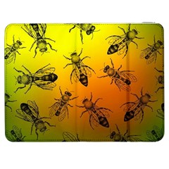 Insect Pattern Samsung Galaxy Tab 7  P1000 Flip Case