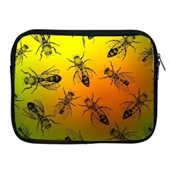 Insect Pattern Apple Ipad 2/3/4 Zipper Cases
