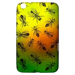 Insect Pattern Samsung Galaxy Tab 3 (8 ) T3100 Hardshell Case