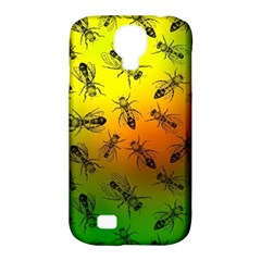 Insect Pattern Samsung Galaxy S4 Classic Hardshell Case (PC+Silicone)
