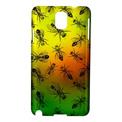 Insect Pattern Samsung Galaxy Note 3 N9005 Hardshell Case